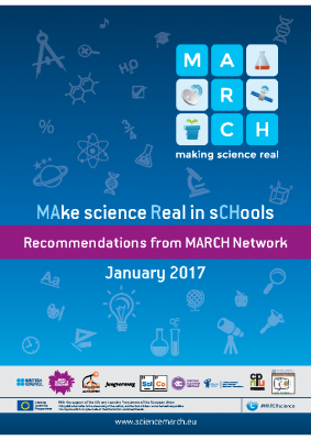 Make science Real in schools. Recommendations from MARCH Network