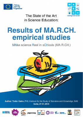 The State of the Art in Science Education. Results of MARCH Empirical Studies